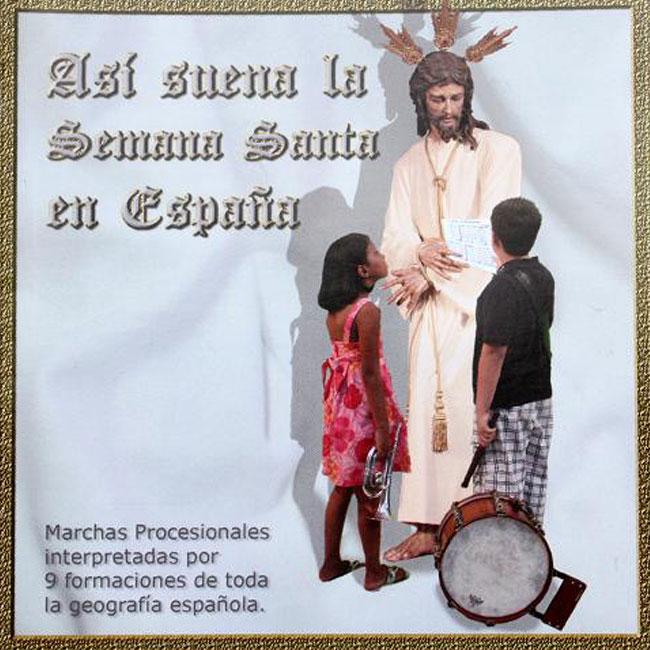 CD Así Suena la Semana Santa de España, de la A.M. Vera Cruz de Campillos
